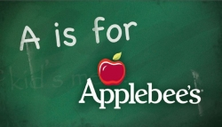 A is for Applebee